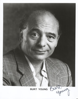 BURT YOUNG - AUTOGRAPHED SIGNED PHOTOGRAPH