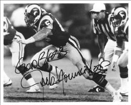 JACK YOUNGBLOOD - AUTOGRAPHED SIGNED PHOTOGRAPH