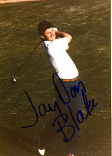 JAY DON BLAKE - AUTOGRAPHED SIGNED PHOTOGRAPH