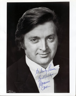 DOMINIC COSSA - AUTOGRAPHED INSCRIBED PHOTOGRAPH