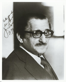 JAN PEERCE - AUTOGRAPHED SIGNED PHOTOGRAPH 1979