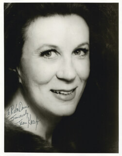 JEAN KRAFT - AUTOGRAPHED INSCRIBED PHOTOGRAPH