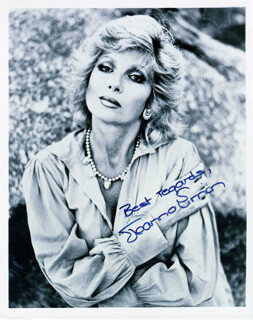 JOANNA SIMON - AUTOGRAPHED SIGNED PHOTOGRAPH