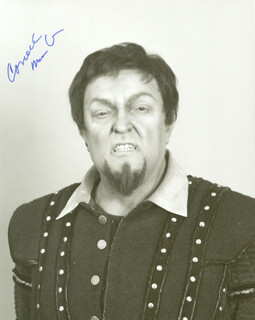 CORNELL MacNEIL - AUTOGRAPHED SIGNED PHOTOGRAPH