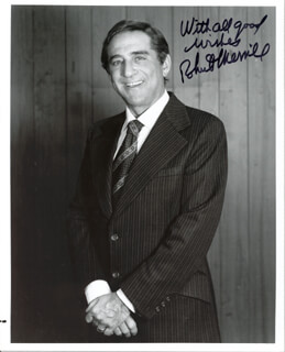 ROBERT MERRILL - AUTOGRAPHED SIGNED PHOTOGRAPH