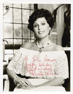 ROBERTA PETERS - AUTOGRAPHED INSCRIBED PHOTOGRAPH