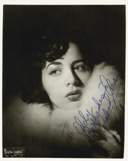 ROSALIND ELIAS - AUTOGRAPHED INSCRIBED PHOTOGRAPH