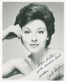 ARIEL BYBEE - AUTOGRAPHED INSCRIBED PHOTOGRAPH 1980