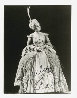 EVELYN LEAR - AUTOGRAPHED SIGNED PHOTOGRAPH
