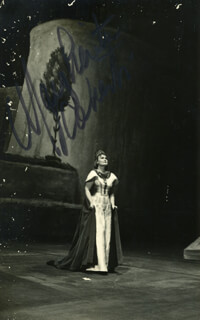 MARGHERITA ROBERTI - AUTOGRAPHED SIGNED PHOTOGRAPH