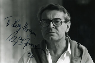 MILOS FORMAN - AUTOGRAPHED INSCRIBED PHOTOGRAPH 1990