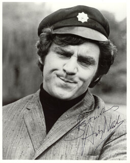 ANTHONY NEWLEY - AUTOGRAPHED SIGNED PHOTOGRAPH