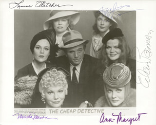 CHEAP DETECTIVE MOVIE CAST - AUTOGRAPHED SIGNED PHOTOGRAPH CO-SIGNED BY: MARSHA MASON, ANN-MARGRET, EILEEN BRENNAN, STOCKARD CHANNING, LOUISE FLETCHER