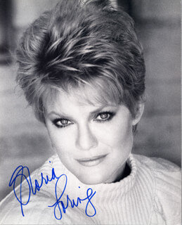 GLORIA LORING - AUTOGRAPHED SIGNED PHOTOGRAPH