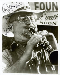 PETE FOUNTAIN - AUTOGRAPHED INSCRIBED PHOTOGRAPH