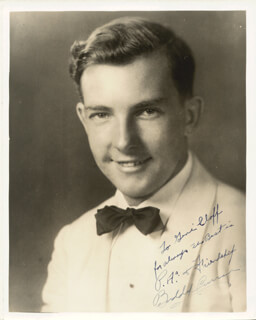BUDDY CURRAN - AUTOGRAPHED INSCRIBED PHOTOGRAPH