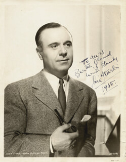 JOSE ITURBI - AUTOGRAPHED INSCRIBED PHOTOGRAPH 1965