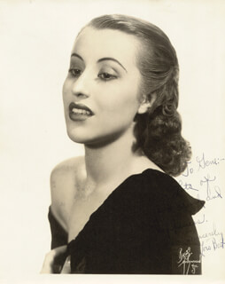 LOIS BEST - AUTOGRAPHED INSCRIBED PHOTOGRAPH