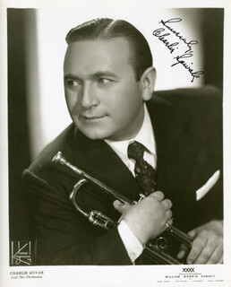 CHARLIE SPIVAK - AUTOGRAPHED SIGNED PHOTOGRAPH