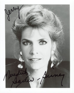 MEREDITH BAXTER BIRNEY - AUTOGRAPHED INSCRIBED PHOTOGRAPH