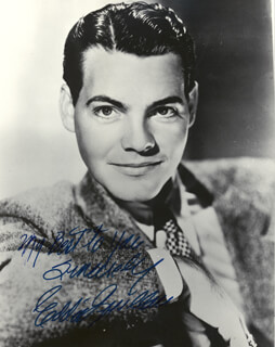 EDWARD EDDIE QUILLAN - AUTOGRAPHED SIGNED PHOTOGRAPH
