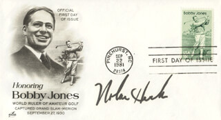 NOLAN HENKE - FIRST DAY COVER SIGNED