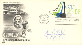 JIM GALLAGHER JR. - FIRST DAY COVER SIGNED