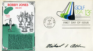 Autographs: MICHAEL ALLEN - FIRST DAY COVER SIGNED