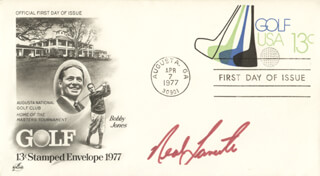 NEAL LANCASTER - FIRST DAY COVER SIGNED
