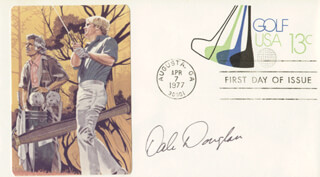 DALE DOUGLASS - FIRST DAY COVER SIGNED