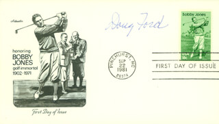 DOUG FORD - FIRST DAY COVER SIGNED