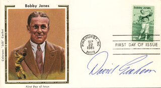 DAVID GRAHAM - FIRST DAY COVER SIGNED
