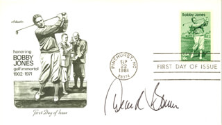 Autographs: DEANE R. BEMAN - FIRST DAY COVER SIGNED