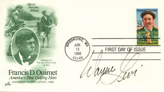WAYNE LEVI - FIRST DAY COVER SIGNED