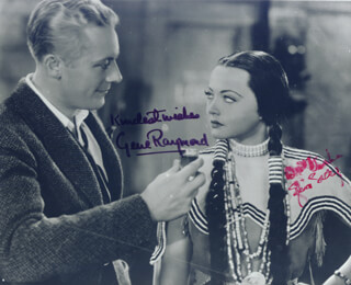 BEHOLD MY WIFE MOVIE CAST - AUTOGRAPHED SIGNED PHOTOGRAPH CO-SIGNED BY: SYLVIA SIDNEY, GENE RAYMOND