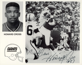 HOWARD CROSS - AUTOGRAPHED INSCRIBED PHOTOGRAPH