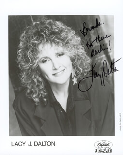 LACY J. DALTON - AUTOGRAPHED INSCRIBED PHOTOGRAPH