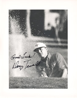 DOUG TEWELL - AUTOGRAPHED SIGNED PHOTOGRAPH