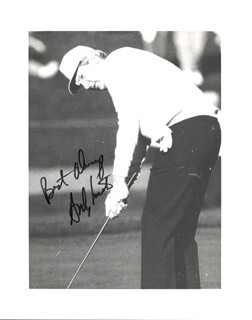 ANDY NORTH - AUTOGRAPHED SIGNED PHOTOGRAPH