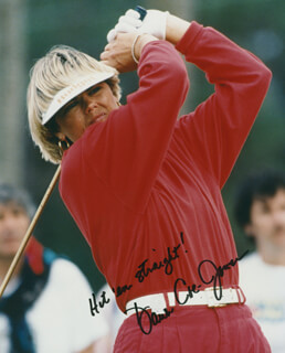 DAWN COE-JONES - AUTOGRAPHED SIGNED PHOTOGRAPH