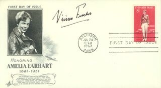 SIR VIVIAN E. FUCHS - FIRST DAY COVER SIGNED
