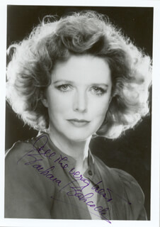 BARBARA BABCOCK - AUTOGRAPHED SIGNED PHOTOGRAPH