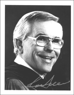 ROBERT H. SCHULLER - AUTOGRAPHED SIGNED PHOTOGRAPH