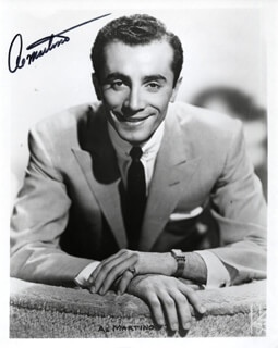 AL MARTINO - AUTOGRAPHED SIGNED PHOTOGRAPH