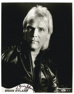 BRIAN HYLAND - AUTOGRAPHED SIGNED PHOTOGRAPH