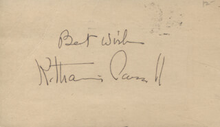 KATHARINE CORNELL - AUTOGRAPH SENTIMENT SIGNED
