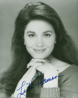 LINDA HARRISON - AUTOGRAPHED SIGNED PHOTOGRAPH