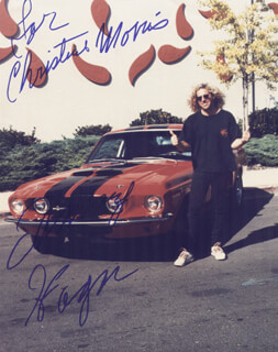 SAMMY HAGAR - AUTOGRAPHED INSCRIBED PHOTOGRAPH  - HFSID 205200