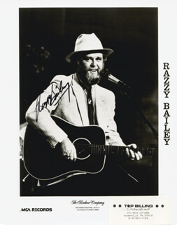 RAZZY BAILEY - AUTOGRAPHED SIGNED PHOTOGRAPH