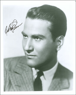 ARTIE SHAW - AUTOGRAPHED SIGNED PHOTOGRAPH